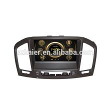 Оригинальный дизайн вздрагивания автомобиль Центральный мультимедиа для Опель Инсигния/Бьюик Регал с GPS и 3G/ДВД/блютус/док/Формат RMVB/РДС