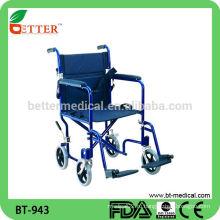 Современный дизайн Алюминиевое кресло-коляска с колесными тормозами