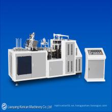 (KZ-PD-35) El solo / el PE doble automático cubrieron el tazón de fuente de papel que formaba / que hacía la máquina