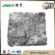 Almohada de piel de oveja compartida al por mayor de calidad superior