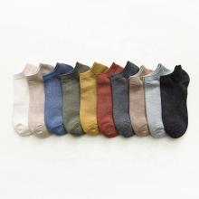 Baumwolle Polyester Spaned Damen dünne knöchellange Socken