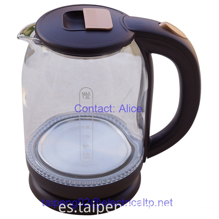 Electric Kettle Glass With Color Changing