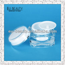 15g Acryl Doppelwand Kosmetik Gesicht Skincare Creme Jar