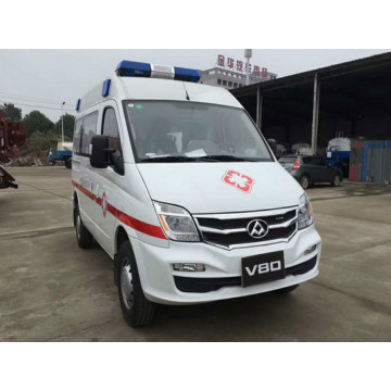 Saic chase brand gasoline 4*2 medical ambulance