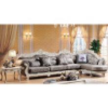 Sofá de tela de madera para muebles de sala de estar (112)