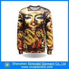 Großhandels-Hip Hop-Kleidungs-eleganter Polyester-Sublimations-DruckHoodie