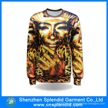 Custom High Quality Apparel Fashion Sublimation Man Sweatshirts
