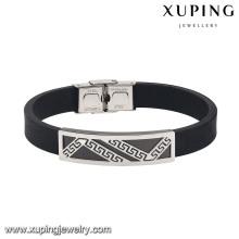 74439-fashion environmental copper steel fancy mens bracelets