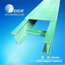 Safe Flame Retardant and fire resistant cable tray with flame retardants FRP Cable Tray