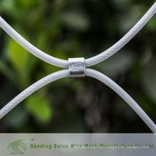 2015 alibaba china herstellung kunststoffbeschichtetes kugelförmiges mesh-kabeldrahtgewebe
