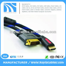 DVI 24+1 to HDMI DVI Video Cable