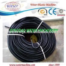 plastic single wall corrugated pipe machine