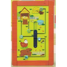 Wooden Chicks Wall Game Toy for Kids and Children