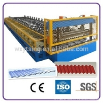 YTSING- YD-4835 passed ISO & CE High Quality Corrugated Tile Making Machine /Roof Tile Roll Forming Machine