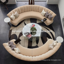 SUMENG best hot sell round sofa set living room furniture S617