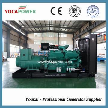 Дизельный генератор мощностью 800 кВт работает от двигателя Cummins (KTA38-G2A)