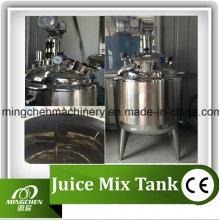 Mc Food Grade aço inoxidável Shampoo mistura tanque