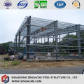 Estrutura de aço leve para hangar de aeronaves