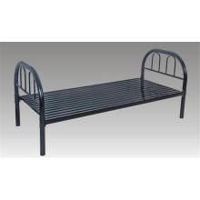 Школьная мебель металлическая односпальная кровать с лестницей