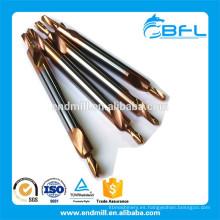 Brocas de centro de carburo de tungsteno sólido BFL