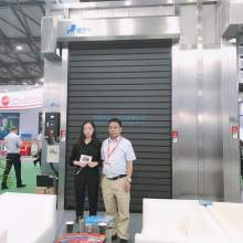 Automatic Foaming Fast Aluminum Door