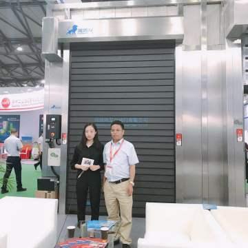 Automatic Foaming Fast Aluminum Door