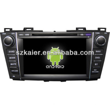 Android sistema dual core central multimedia del coche para Mazda 5 con GPS / Bluetooth / TV / 3G / WIFI