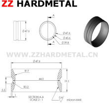 Crownded Polishing Cemented Carbide Wire Cable Guide