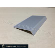 Silver Tile Edging in Aluminum Profile
