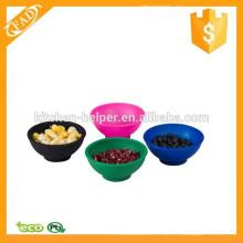 Soft e Flexível Multi-função Silicone Mini Soup Bowl