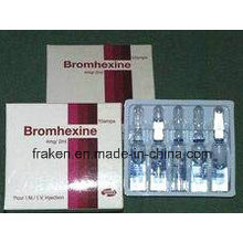 GMP Certified Droperidol Injection, Deslanoside Injection & Bromhexine HCl Injection