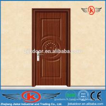 JK-P9052 Porte intérieure en bois pvc entrée intérieure