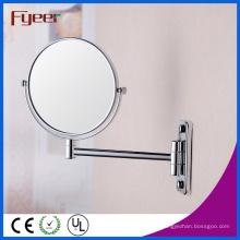 Miroir cosmétique de mur de loupe de double de Fyeer rond (M0558)