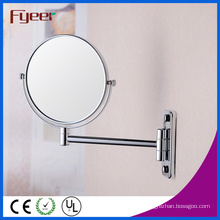 Fyeer Round Double Side Magnifying Wall Cosmetic Mirror (M0558)