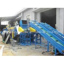 ПП/ ПЭ пленки пластиковых отходов стиральная машина Рециркулируя линию