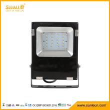 20W SMD LED Flood Light with Black Housing 2000 Lumens LED Floodlight Outdoor