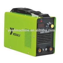 Aço shell digital display mma máquina de solda 220v