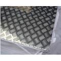 1050 3003 5052 pour élévateurs, plaque de roulement en aluminium antidérapante