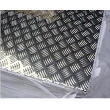 1050 3003 5052 para elevadores, placa de piso de alumínio à prova de proteção