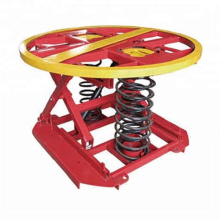 2000kg hydraulic spring lift table for sale
