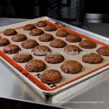 Hot Selling 2016 Silicone Coated Fiberglass Baking Mat Reusable Pan Liners