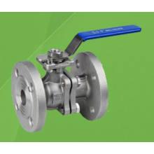 2PC Flangeada Flutuante Válvula de Esfera com ISO / 5210/5211 Almofada de Montagem (Q41F)