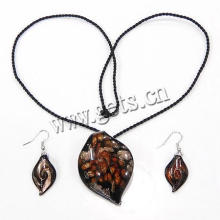 Gets.com 2015 lampwork african gold plating jewelry set