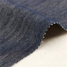 16X200D + 40D / 98X44 205Gsm 147Cm Navy Baumwolle Spandex Zusammensetzung Elastische Kleidungsstück Polyester Stoff Textilien