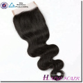 High Quality China 100 Human Hair Weave Brands Free Parts Lace Closure With Baby Hair