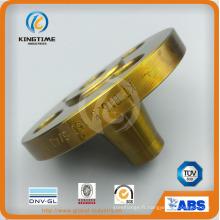 Bride forgée de cou de soudure d'acier au carbone d'ASME B16.5 (KT0388)
