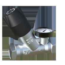 Válvula de controle termostática de ação automática