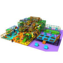 Indoor-Spielplatz Trampolin Park Family Fun Play Center für Kinder