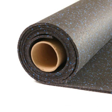 5mm 8mm Fitness EPDM Granule Roll Interlock Rubber Flooring for Gym