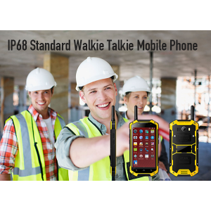 IP68 Standard Walkie Talkie unzerstörbares Handy